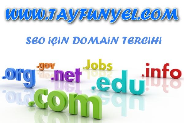 Seo uyumlu domain tercihi